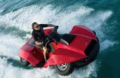 Um, What?! The Quadski Is A Cross Between Jet Ski And Four-Wheeler