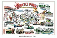 Rocky Point Amusement Park... even though I think the main reason people went there was to eat... best clam cakes ever