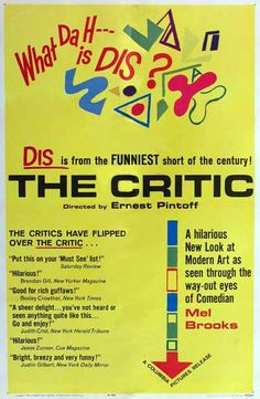 The_Critic_By_Mel_Brooks  #free online short