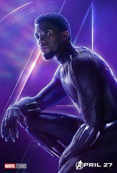 Black Panther Marvel/Infinity war New official poster Marvel Avengers, Marvel Dc Comics, Marvel Heroes, Marvel Lee, War Comics, Thanos Marvel, Poster Marvel, Poster S, Avengers Poster