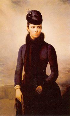 Empress Marie Feodorovna by Alexei Korzukhin