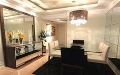 Decor Salteado - Blog de Decoração   Arquitetura   Construção   Paisagismo: Salas de jantar-50 modelos maravilhosos e dicas de como decorar!