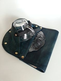 Tea Dueling Leather Teacup Holster by JAFantasyArt on Etsy, $75.00