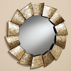 Large Swirl Wall Mirror