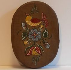 Chipper Chirper Hand Painted Wooden Band Box by ByCoco on Etsy
