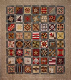 Karen Mowery's version of Brackman's Civil War blocks-2011