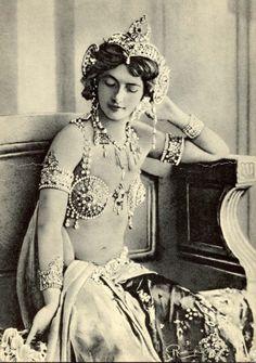 7 August 1876 Mata Hari was born.