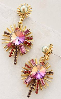 Centrale Earrings #anthrofave