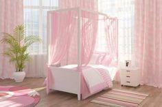 kids furniture, canopy beds for children bedroom decorating