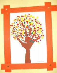 idée d'Activité manuelle pour l'automne Enfant - 2-4 ans et plus activité automnale avec mes 10 doigts Make Up Art, Crafts For Kids To Make, Art For Kids, Kindergarten Art Projects, Kindergarten Themes, Preschool Art, Preschool Activities, October Crafts, Fall Art Projects