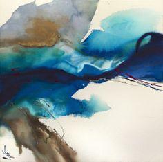 "Jonas Gerard Misty Mediation - 40""x40"" Acrylic on Canvas http://www.jonasgerard.com/"