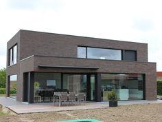Zadeldak kleipan moderne woning dak pinterest - Deco moderne woning ...
