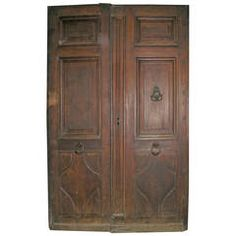 Antique Double Entry Door
