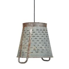 Iron Vintners Basket Hanging Light