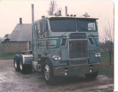 Pic was taken in 1982. It had a 430 Detroit, and 13 sp. I think it was a 1979,