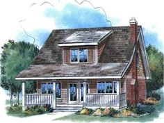 Cottage House Plan - #ALP-08K7