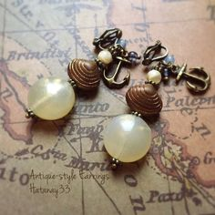 Antique-style Earrings ~Part11~ | ハンドメイドマーケット minne