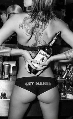 Whiskey Girl. #JAMESON