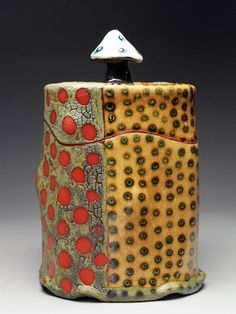 Ronan Peterson Stump Box (dots) at MudFire Gallery....one of my favorites!