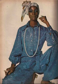 Naomi Sims- Vogue late 60's