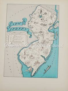 Frame a map of her favorite place or one with significance to you as a couple (where you met, got engaged, married, honeymooned...)