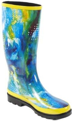 Notbyour ordinary mud boot.  The Dirty Girl - Wellington style garden boots / rain boots