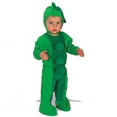 Disfraz de Guisante para bebe