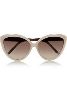 Shop Linda Farrow's new season sunglasses at NET-A-PORTER. Enjoy worldwide Express delivery and free returns. Linda Farrow, Face Shape Sunglasses, Ray Ban Sunglasses Sale, Coin Purse Wallet, Cat Eye Glasses, Keep Jewelry, Pin Up Style, Eyewear, Fashion Accessories