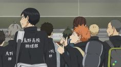 I just love their bickering (Kageyama looks so pissed off)