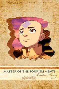 Avatar The Last Airbender: Aang- Master of the Four elements Korra Avatar, Team Avatar, Sneak Attack, Water Tribe, Pokemon, Iroh, Fire Nation, Zuko, Legend Of Korra