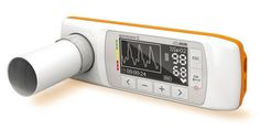 Hand-held spirometer with pulse oximeter Spirobank ® II