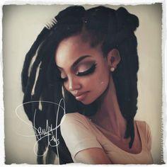 Black Panther • afrodesiacworldwide:  afrodesiacworldwideblack_fenr...