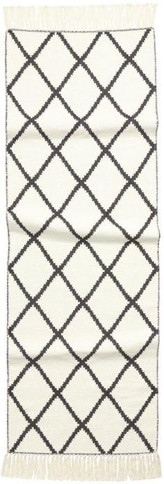 H&M - Jacquard-weave Cotton Rug - White