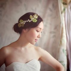Leaf Wedding Headpiece  Wedding Hair Accessories  by wishpiece, $36.00