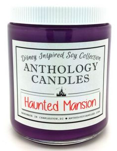 Anthology Candles has created a line of Disney-inspired candles that will fill your house with the smells of the parks.