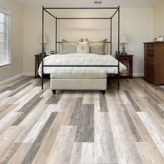 LifeProof Take Home Sample - Raven Forest Oak Luxury Vinyl Flooring - 4 in. x 4 in.-100821822L - The Home Depot
