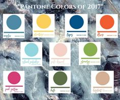 Our 2017 Pantone guide for Spring & Summer. Find out what this year's colors are and ideas on color combinations for your big day. Pantone 2017 Colour, Spring Wedding Colors, Big Day, Wedding Blog, Color Combinations, Spring Summer, Bride, Image, Ideas