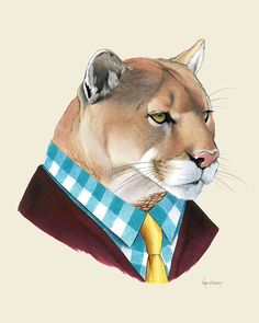 Hey, I found this really awesome Etsy listing at https://www.etsy.com/listing/163712631/mountain-lion-art-print-8x10