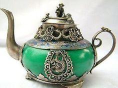 old-tibet-silver-jade-teapot-incense-burner