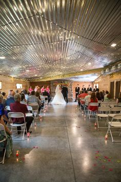 Amy & Ken'sMagenta & Lime Green Timber Line Barn Wedding| Photographer: O'Bryan Photography