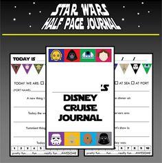 PRINTABLE Star Wars Themed Disney Cruise by TiffanyandGirls