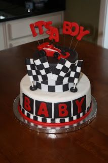A Little Something Detailed: Race Car Baby Shower.