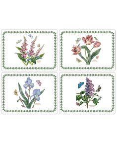 Portmeirion Table Linens, Set of 4 Botanic Garden Placemats