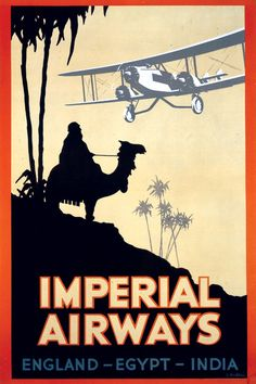 Imperial Airways England-Egypt-India: C. Peckham c.1930 (British Airways Heritage Centre)