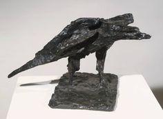Dame Elisabeth Frink, 'Bird' 1952 Modern Art Sculpture, Mixed Media Sculpture, Bird Sculpture, Animal Sculptures, Elisabeth Frink, Bird Theme, Art Carved, A Level Art, Pet Birds