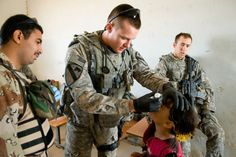Trained To Save - usarmystrong: United States Army (Combat Medic). Combat Medic, United States Army, Muslim, Military Jacket, Medical, Eye Drops, People, Us Army, Field Jacket