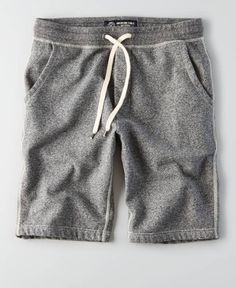 fleece shorts are comfy and are a essential. Jogger Shorts, Fleece Joggers, Mens Fleece Shorts, Teen Boy Fashion, Mens Fashion, American Eagle Men, Mens Outfitters, Boys T Shirts, Mens Clothing Styles