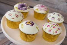 Vintage Hand Painted Cupcake Class with Claire Corbett- THURS 16TH FEB 6-10PM