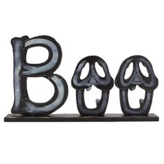 "Boo Cutout Word Sign, 16"" x 9"""