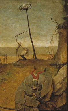 The Triumph of Death (details) ~ Bruegel the Elder